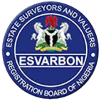 ESTATE SURVEYORS AND VALUERS REGISTRATION BOARD OF NIGERIA (ESVARBON)